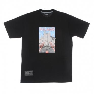 maglietta uomo milano tee BLACK