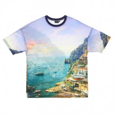 maglietta uomo costiera amalfitana tee WHITE/MULTI