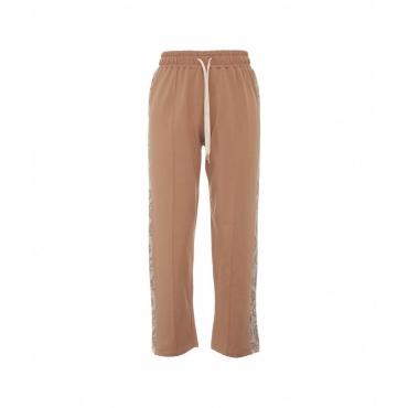 Pantalone jogger Cammello