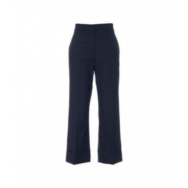 Pantalone a sigaretta blu scuro