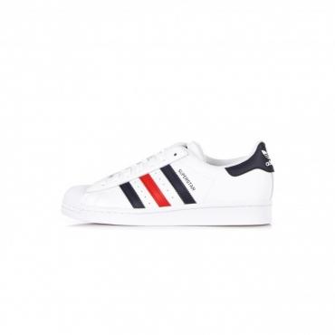 scarpa bassa uomo superstar CLOUD WHITE/SCARLET/CLOUD WHITE