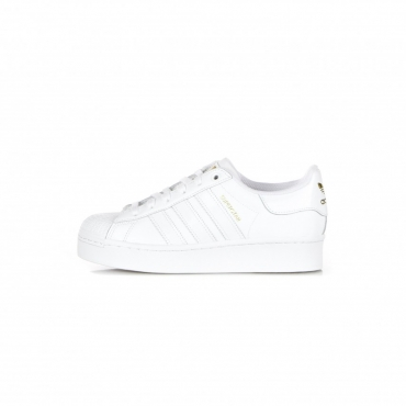 scarpa bassa donna superstar bold w CLOUD WHITE/CLOUD WHITE/GOLD METALLIC