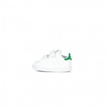 scarpa bassa bambino stan smith cf i CLOUD WHITE/CLOUD WHITE/GREEN