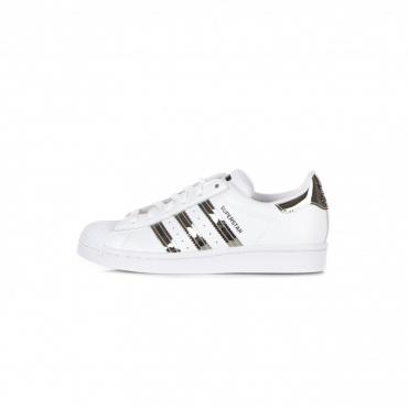 scarpa bassa donna superstar w CLOUD WHITE/SILVER METALLIC/CORE BLACK
