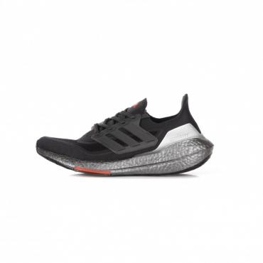 scarpa bassa uomo ultraboost 21 CARBON/CARBON/SOLAR RED
