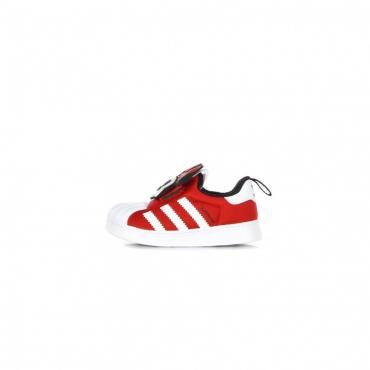 scarpa bassa bambino superstar 360 x disney VIVID RED/CLOUD WHITE/CORE BLACK