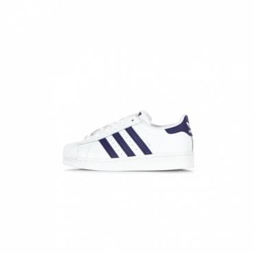 scarpa bassa bambino superstar c CLOUD WHITE/NIGHT SKY/CLOUD WHITE