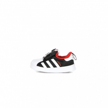 scarpa bassa bambino superstar 360 i x disney CORE BLACK/CLOUD WHITE/VIVID RED