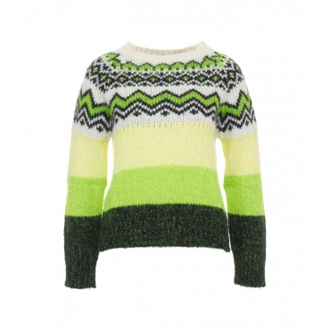 Maglione norvegese verde