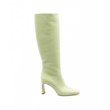 Stivali con tacco Squared Liu Jo X Leonie Hanne verde