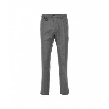 Pantaloni in lana Riviera grigio