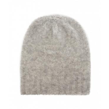 Berretto in misto lana grigio