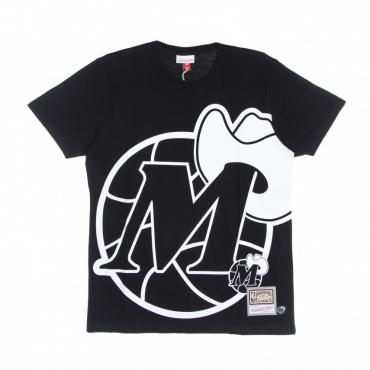 maglietta uomo nba big face 30 tee hardwood classics dalmav BLACK