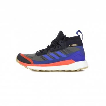 scarpa outdoor uomo terrex free hiker x gore-tex GREY SIX/BOLD BLUE/LEGEND INK