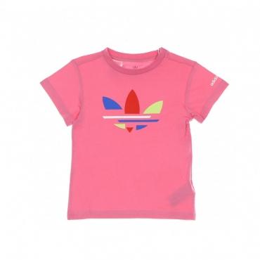 maglietta bambino adicolor tee ROSE TONE