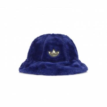 cappello da pescatore uomo sport faux fur bucket hat VICTORY BLUE