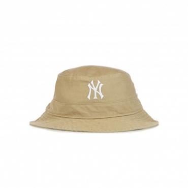 cappello da pescatore uomo mlb bucket neyyan KHAKI/WHITE