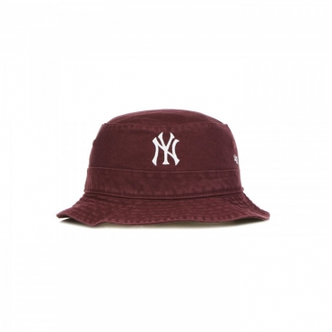 cappello da pescatore uomo mlb bucket neyyan DARK MAROON/WHITE