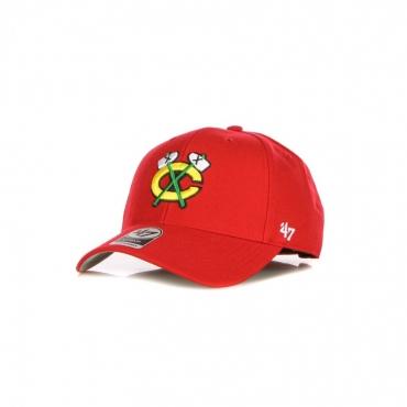 cappellino visiera curva uomo nhl mvp chibla RED