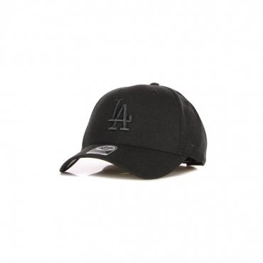 cappellino visiera curva uomo mlb mvp snapback losdod BLACK/BLACK