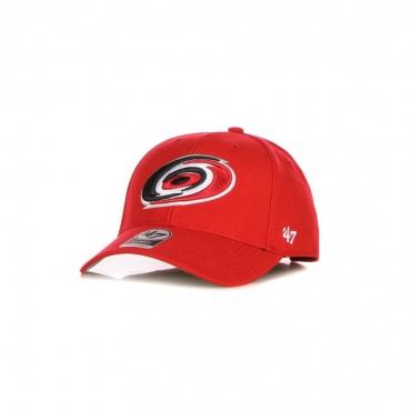 cappellino visiera curva uomo nhl mvp carhur RED