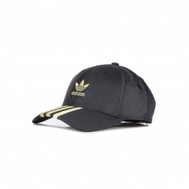 cappellino visiera curva uomo baseball cap BLACK