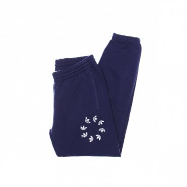 pantalone tuta leggero uomo adicolor shattered trefoil sweatpant NIGHT SKY/WHITE
