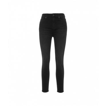 Skinny Jeans Aubrey nero