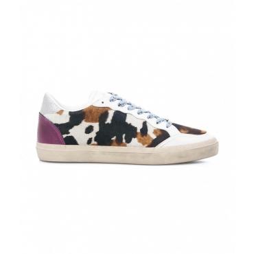 Sneakers Low Top Animalier multicolore