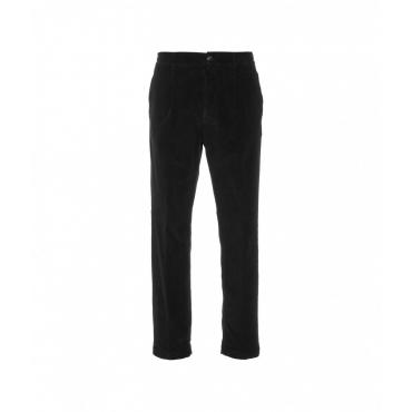 Pantaloni in velluto a coste S Lorenzo nero