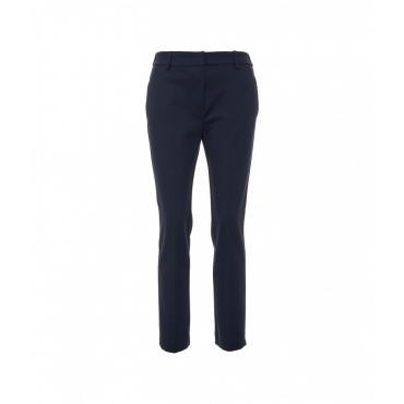 Pantalone casual blu scuro