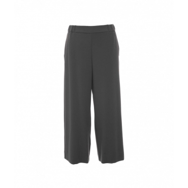 Pantalone cropped grigio