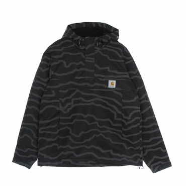 giaccone infilabile uomo nimbus pullover BLACK REFLECTIVE