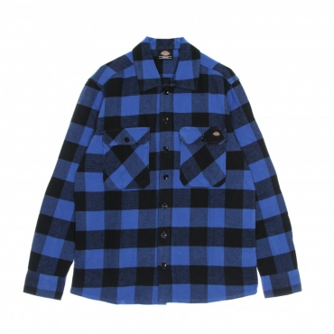 camicia manica lunga uomo new sacramento l/s shirt TRUE BLUE