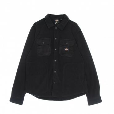camicia manica lunga uomo mackenzie l/s shirt BLACK