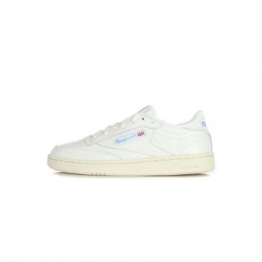 scarpa bassa donna club c 85 CHALK/PAPERWHITE/ATHLETIC BLUE/EXCELLENT RED