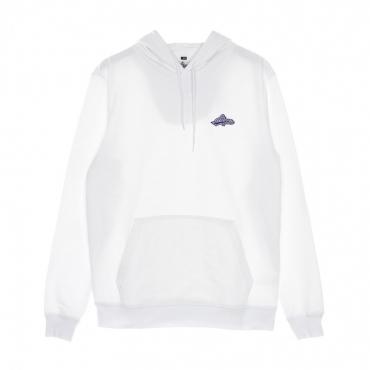 felpa cappuccio uomo starter pack hoodie WHITE