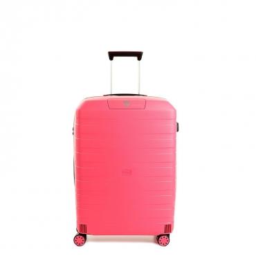 Trolley Medio BOX rosa 4 ruote
