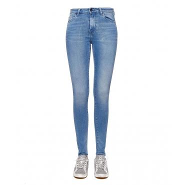 High-Waist Jeans blue