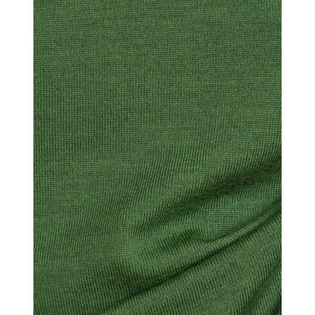Pullover girocollo in lana merino 117 NEWGREEN 117 NEWGREEN