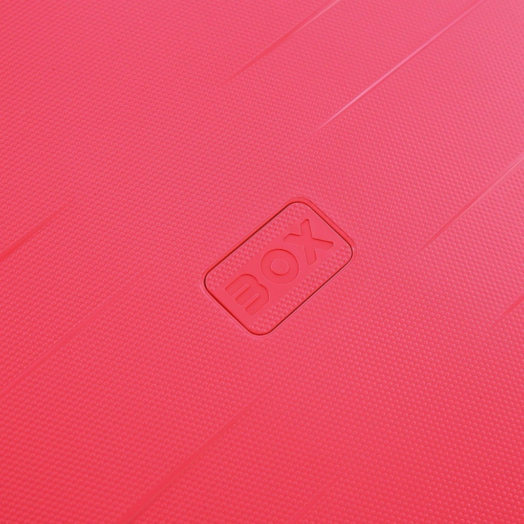 Trolley grande BOX Rosa 4 ruote UNICO