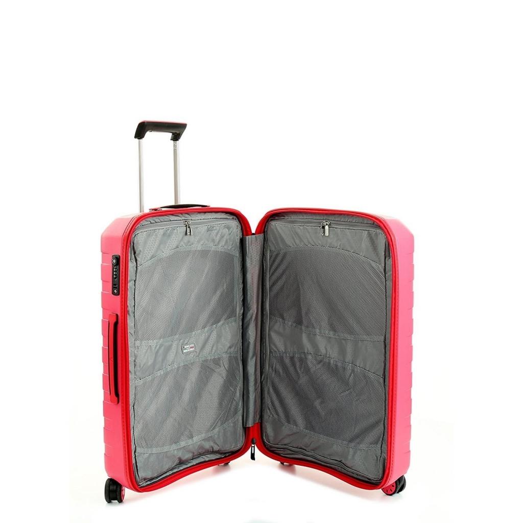 Trolley Medio BOX rosa 4 ruote UNICO
