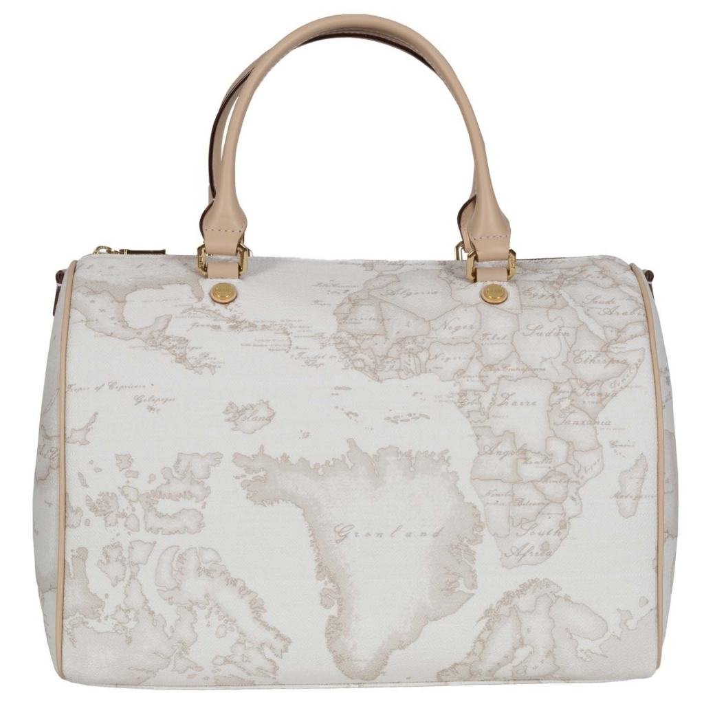 Bauletto grande rigido Geo White UNICO