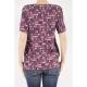 T-Shirt  Donna - 7825/01 207 - Bordo 207 - Bordo