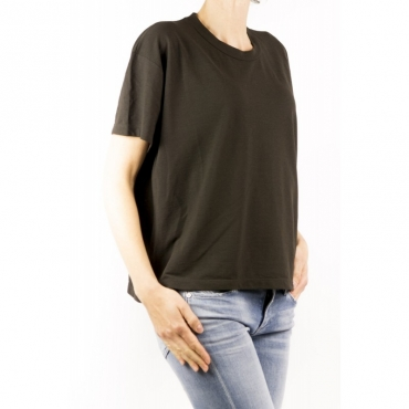 T-Shirt Donna - 8517123 Z0480 T-Shirt Over Ice Cotton Z1094 - marrone Z1094 - marrone