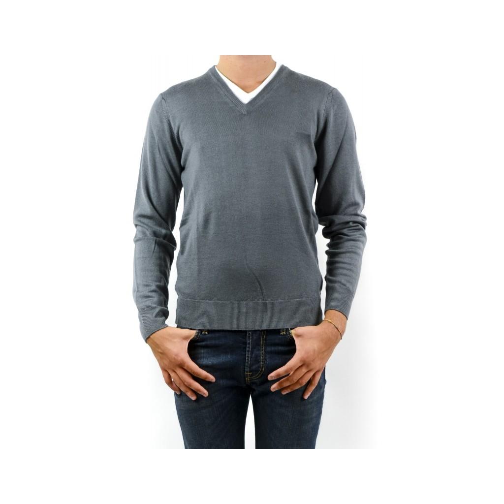 Maglia Uomo - 9020/02 33 - grigio 33 - grigio