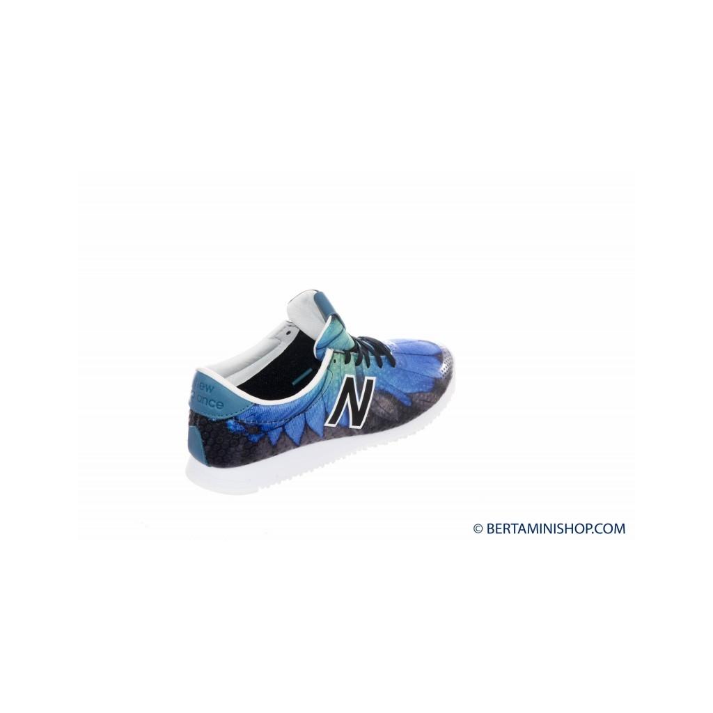 Scarpa Donna - WL 420 Running Anni 70 Stampa DFB - Nero bluette DFB - Nero bluette