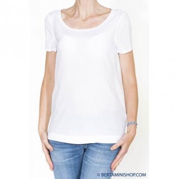 T-shirt donna - 2105o 001 - bianco 001 - bianco