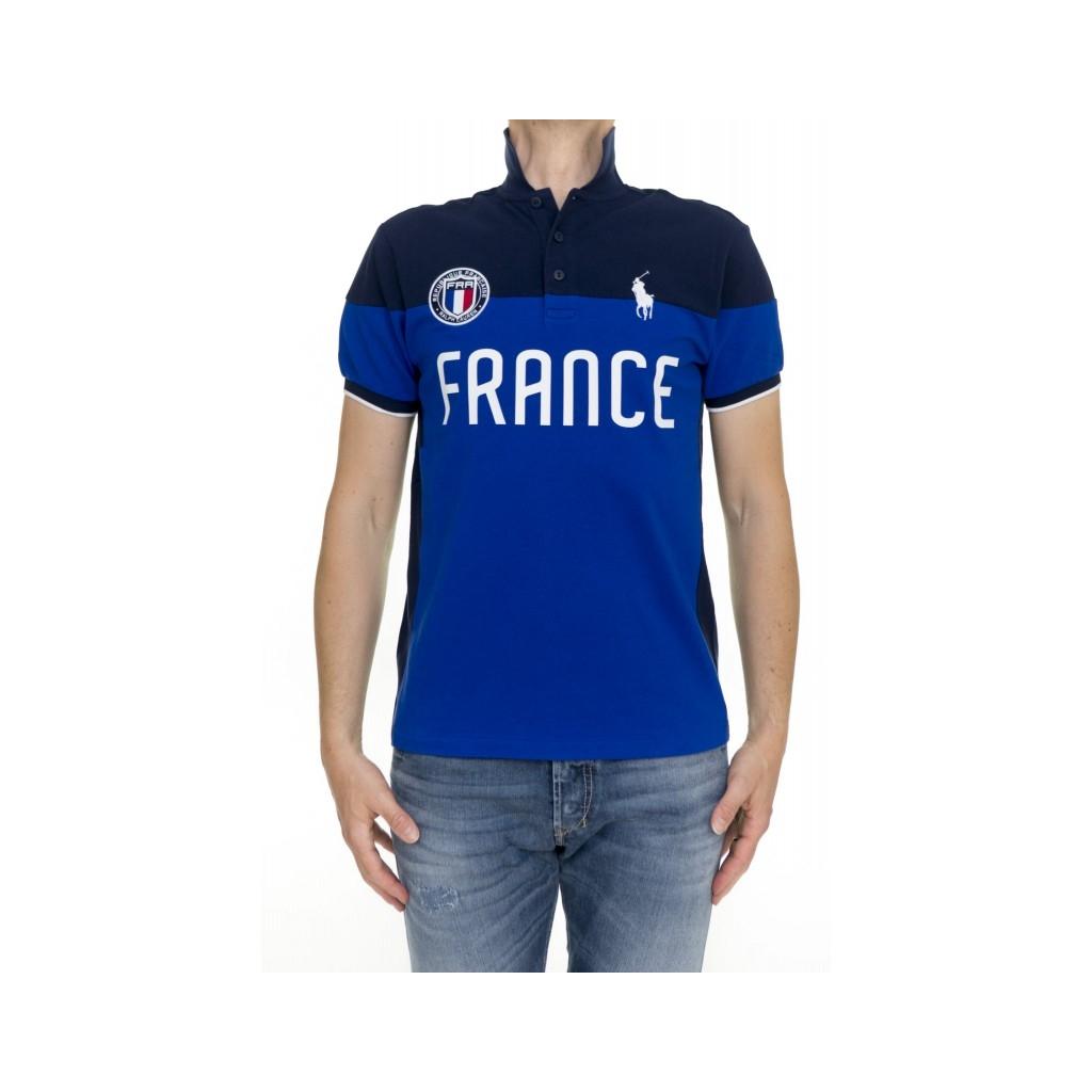 Polo manica corta uomo - A12kbp83c8312 D446A - Francia D446A - Francia