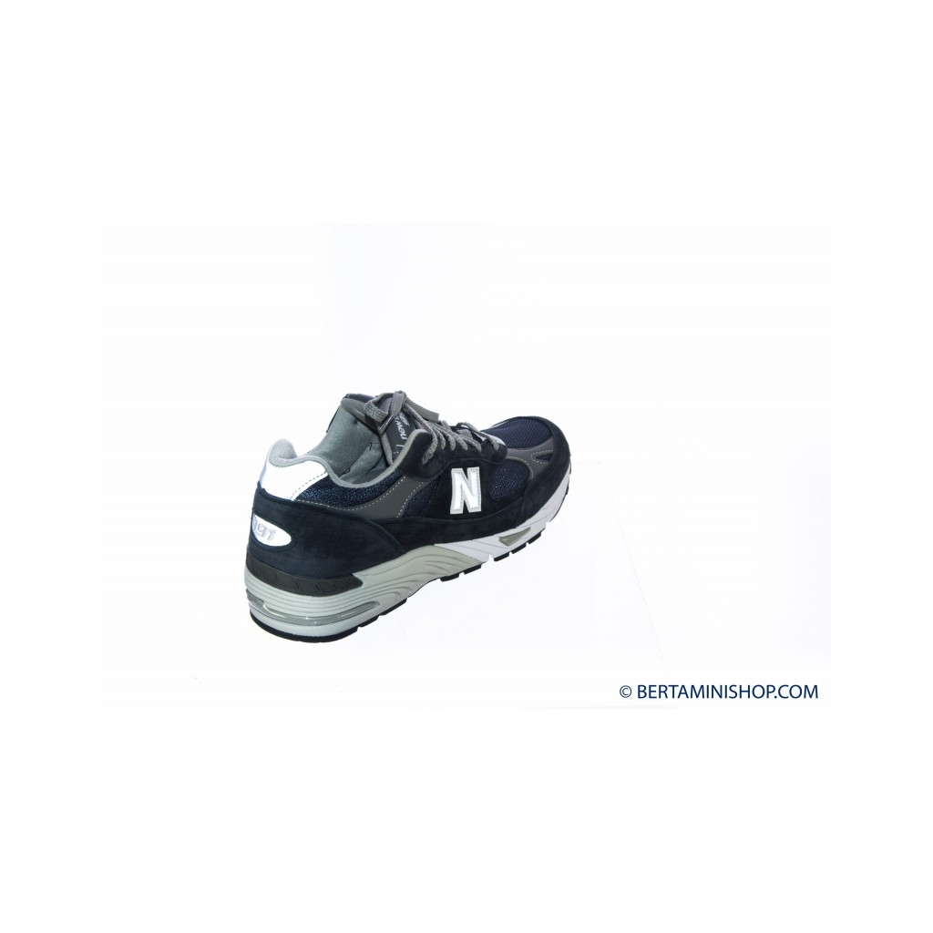 Sneakers Uomo- M991 made in uk mesh suede NV - Blu NV - Blu